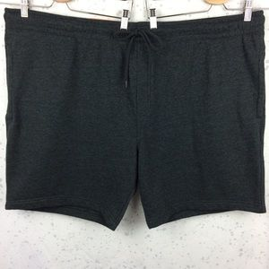 New Goodfellow & Co Knit Shorts Charcoal Gray 4XB